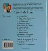 Verso de Sylvain et Sylvette (Album pour les tout-petits - Le Lombard) -11- Les compères déménagent
