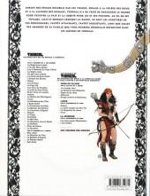 Verso de Thorgal (Les mondes de) - Kriss de Valnor -5- Rouge comme le Raheborg