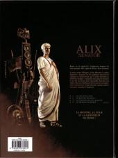Verso de Alix Senator -3- La Conjuration des rapaces
