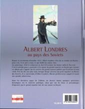 Verso de Albert Londres -2- Albert Londres au pays des Soviets