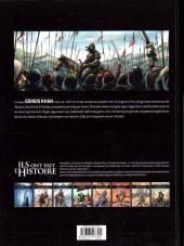 Verso de Ils ont fait l'Histoire -6- Gengis Khan