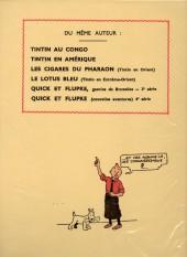 Verso de Tintin (Fac-similé N&B) -6- L'oreille cassée