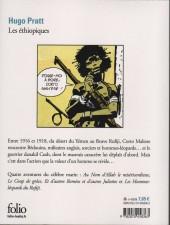Verso de Corto Maltese -2c- Les éthiopiques