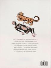 Verso de Les larmes du tigre
