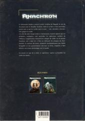 Verso de Anachron -3- Le passeur des monts Kordils