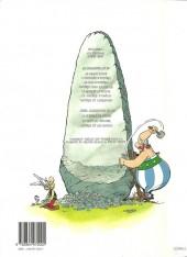 Verso de Astérix -25b01- Le grand Fossé