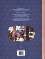Verso de Les carnets de Cerise -3- Le Dernier des cinq trésors