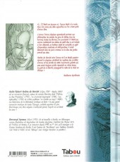 Verso de Les aphrodites -4- Zéphirine tombée des nues
