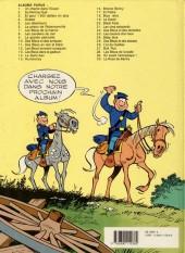 Verso de Les tuniques Bleues -27a90- Bull run