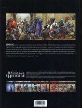 Verso de Ils ont fait l'Histoire -8- Saint Louis