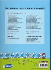 Verso de Les schtroumpfs -28Ind- La grande schtroumpfette