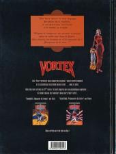 Verso de Vortex -1- Tess Wood, prisonnière du futur - 1