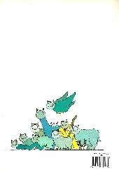 Verso de Le chat -2- Le Retour du Chat