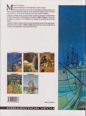 Verso de Giacomo C. -1a93- Le masque dans la bouche d'ombre