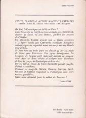 Verso de (AUT) Solé - Chats, Femmes et autres Machines Cruelles
