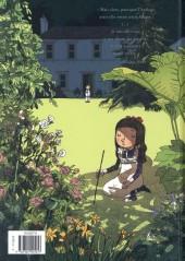 Verso de Le jardin de minuit - Le jardin de Minuit