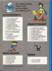 Verso de Les schtroumpfs -2b79- Le schtroumpfissime (+ schtroumpfonie en ut)