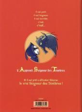Verso de A.S.T. - L'Apprenti Seigneur des Ténèbres -2- Encore plus méchant !