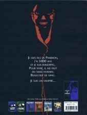 Verso de Je suis un Vampire -2- La Malédiction