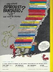 Verso de Spirou et Fantasio -9d76- Le repaire de la murène