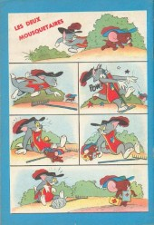 Verso de Tom et Jerry (Puis Tom & Jerry) (2e Série - Sage) -9- Le Roi des Paresseux !