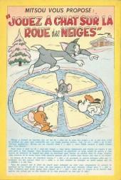Verso de Tom et Jerry (Puis Tom & Jerry) (2e Série - Sage) -23- Jerry et Mitsou mènent Tom en bateau...