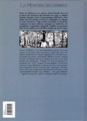 Verso de La mémoire des arbres -3- Les seins de café 1