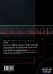 Verso de Accel World -1- Tome 1