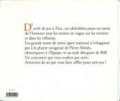 Verso de Illustré (Le Petit) (La Sirène / Soleil Productions / Elcy) - Le foot illustré de A à Z