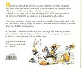 Verso de Illustré (Le Petit) (La Sirène / Soleil Productions / Elcy) - L'équitation de A à Z