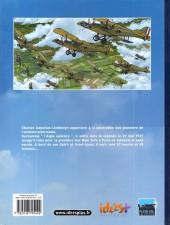 Verso de Histoires de pilotes -4- Charles Lindberg