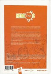 Verso de Héro(ïne)s : la représentation féminine en bande-dessinée - Héro(ïne)s : la représentation féminine en bande dessinée