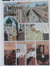 Verso de Adèle Blanc-Sec (The Most Extraordinary Adventures of) -2- The Demon of the Eiffel Tower