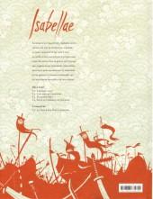 Verso de Isabellae -4- Sous le tombeau de 500 rois