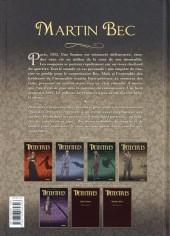 Verso de Détectives - Delcourt -4- Martin Bec - La Cour silencieuse