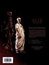 Verso de Alix Senator -4- Les Démons de Sparte