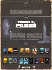 Verso de Le temple du passé -2- Envol