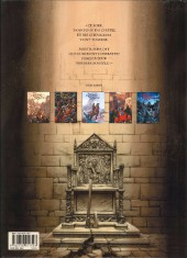 Verso de Le trône d'Argile -3a- Henry, roi de France et d'Angleterre
