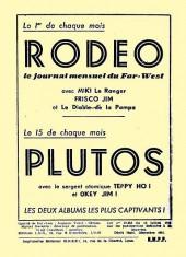 Verso de Rodéo -4HS- Spécial noël et jour de l'an