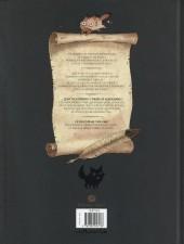 Verso de L'encyclopédie curieuse et bizarre par Billy Brouillard -2- Les chats