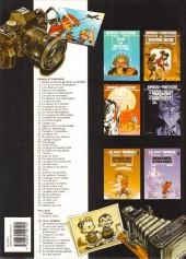 Verso de Spirou et Fantasio -8h01- La mauvaise tête