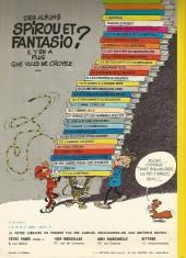 Verso de Spirou et Fantasio -8d77a- La mauvaise tête