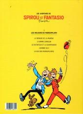 Verso de Spirou et Fantasio -5Ouest Fr.- Les voleurs du marsupilami