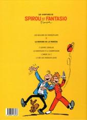 Verso de Spirou et Fantasio -9Ouest Fr.- Le repaire de la murène