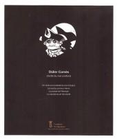 Verso de (AUT) Comès - Didier Comès. L'éclat du Noir Profond