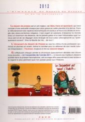 Verso de L'almanach du Dessin de Presse et de la Caricature -2012- L'almanach 2012 du Dessin de Presse et de la Caricature