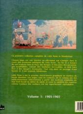 Verso de Little Nemo in Slumberland -5- 1905-1907
