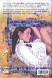 Verso de Alias (Panini Comics) -INT1- Secrets et mensonges