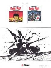 Verso de Ernie Pike -3- Chroniques de guerre 3