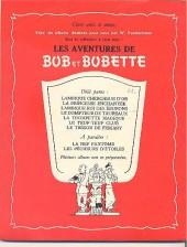 Verso de Bob et Bobette -7- Le trésor de Fiskary